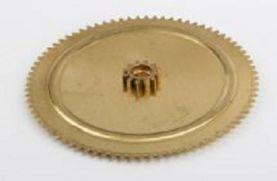 Wilesco 01467.Double Cog Wheel Brass.D366,396,406,409